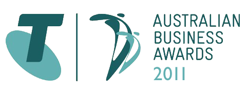 Telstra Business Awards 2011 Logo