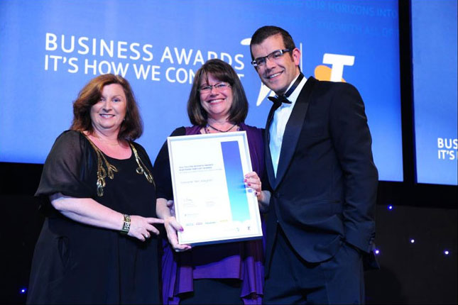 Telstra Business Awards 2011 Winners